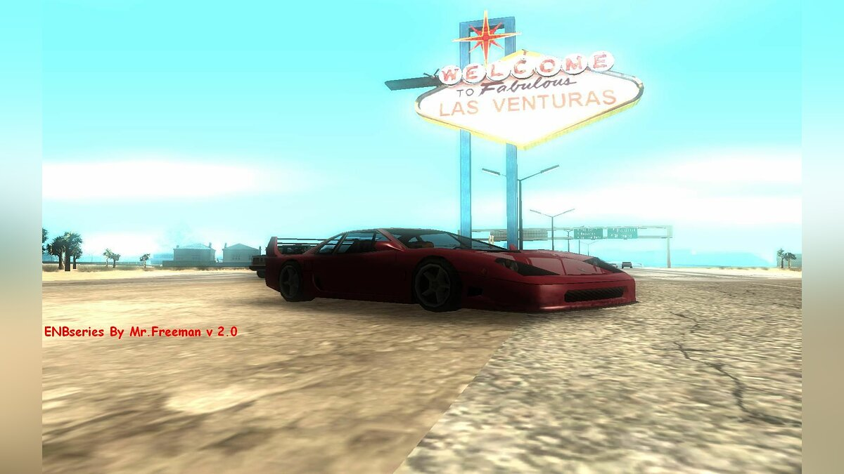 ENBseries by Mr.Freeman V 2.0 для GTA San Andreas