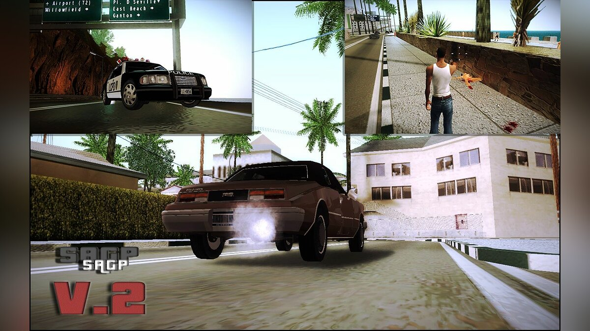 San Andreas Graphic Patch v 2.0 для GTA San Andreas