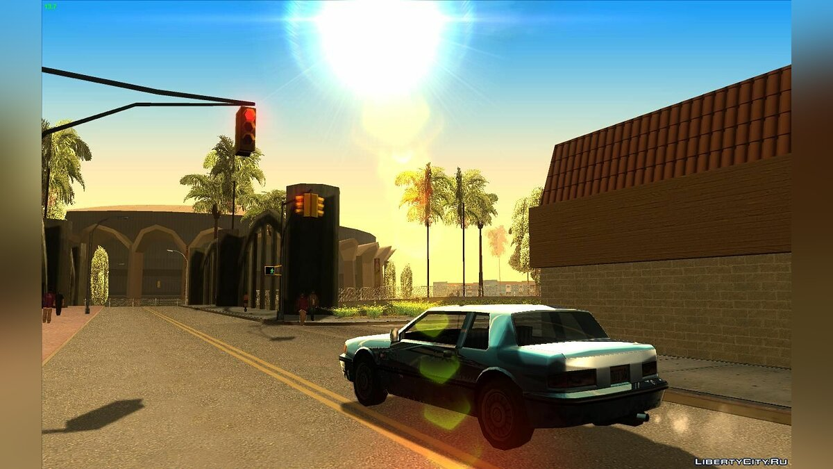 SimpleSun by BrainROM для GTA San Andreas