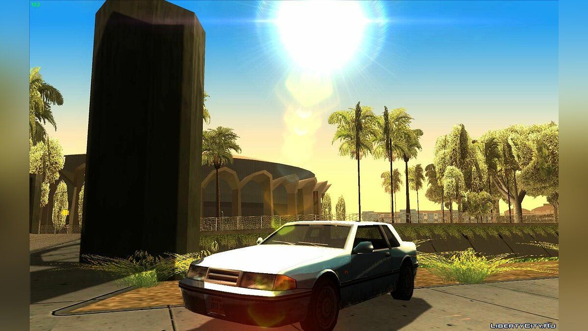 SimpleSun by BrainROM для GTA San Andreas - скриншот #3