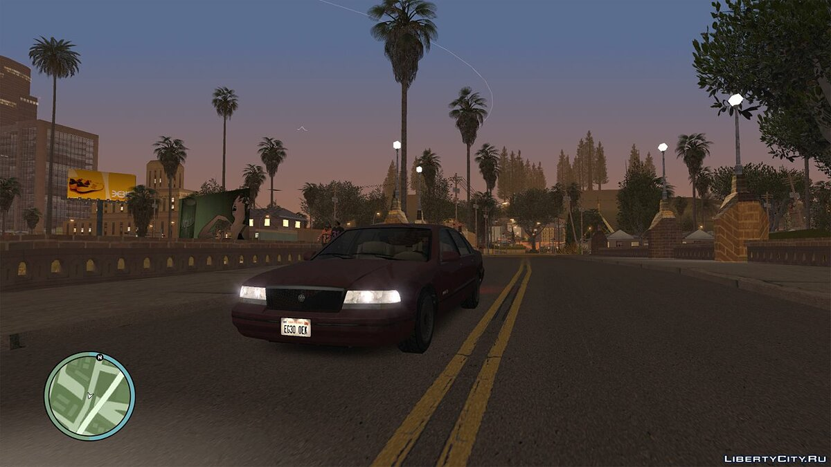 ENB мод Light Sunny Graphics для GTA San Andreas