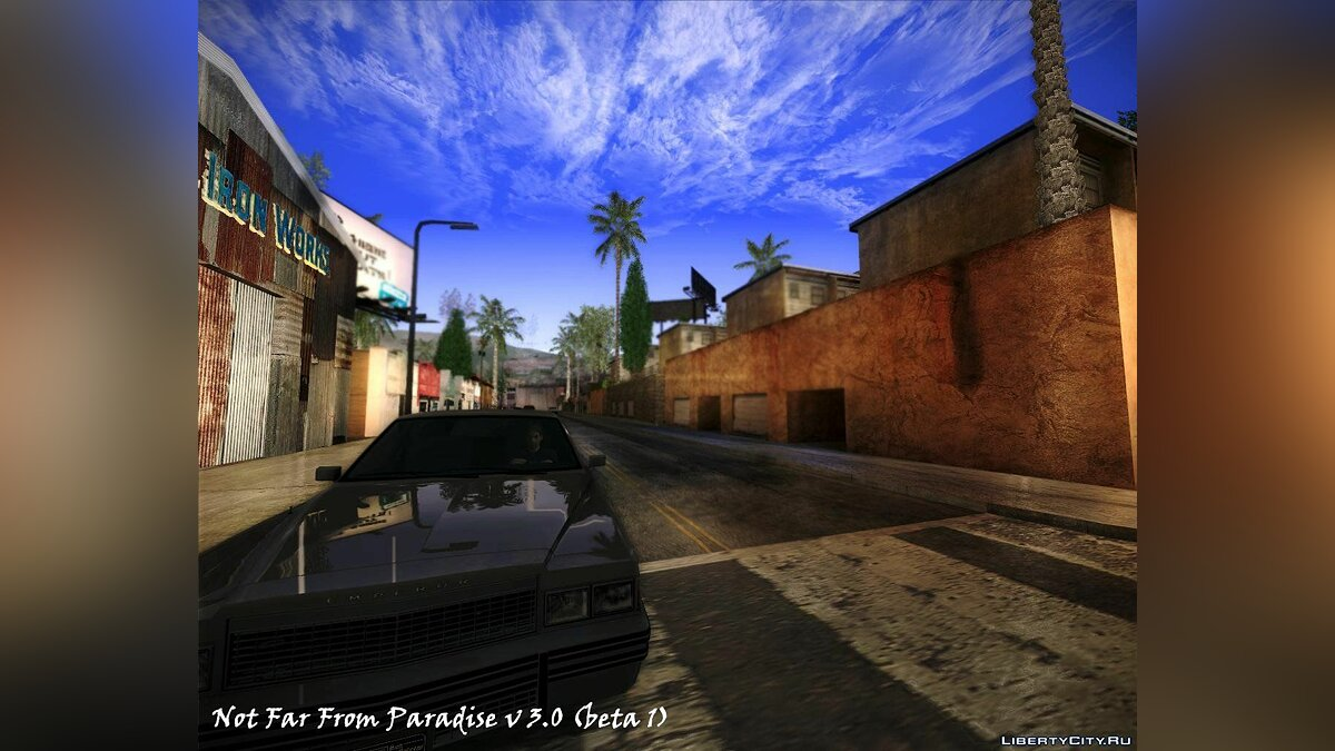 Not Far From Paradise v3.0 (beta1) для GTA San Andreas