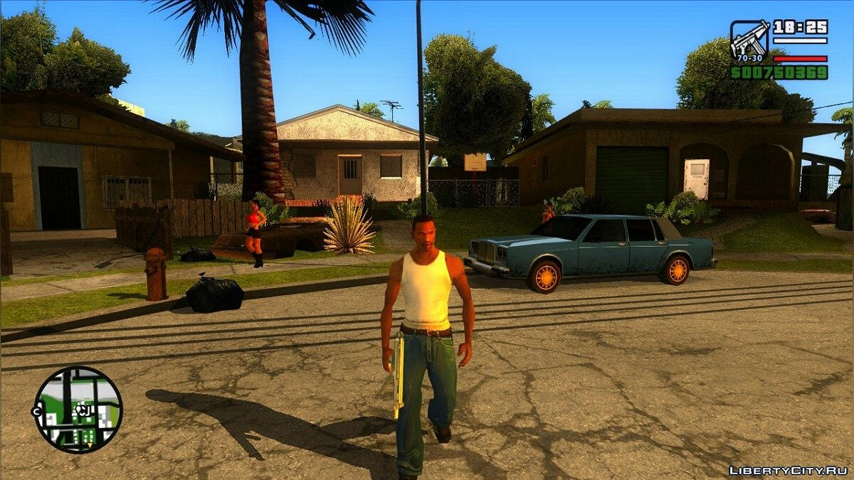 Warm California ENB for SA для GTA San Andreas - скриншот #7