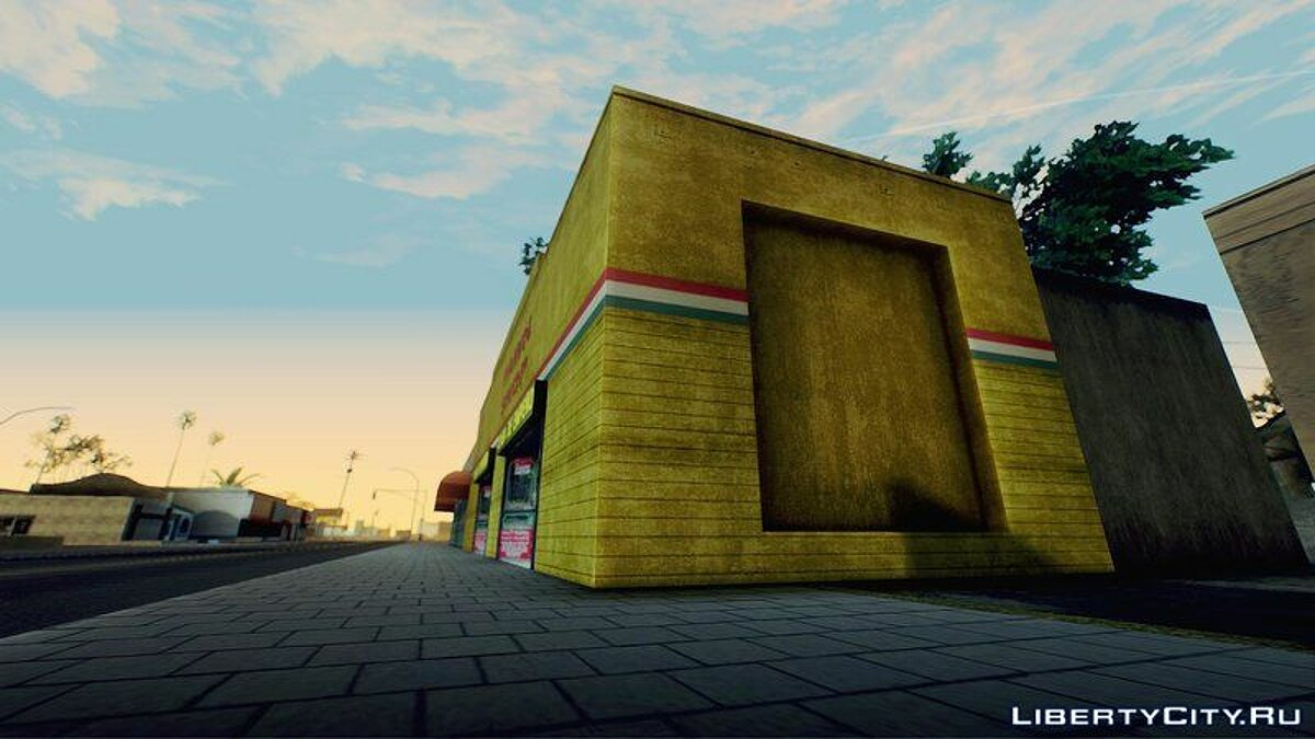 ENB мод SolidBlue ENB для GTA San Andreas