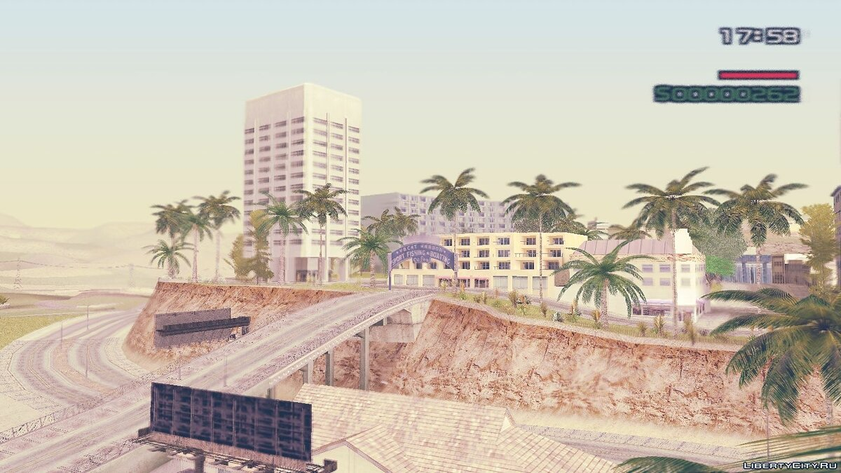 Blue Shade config v.1.0 для GTA San Andreas