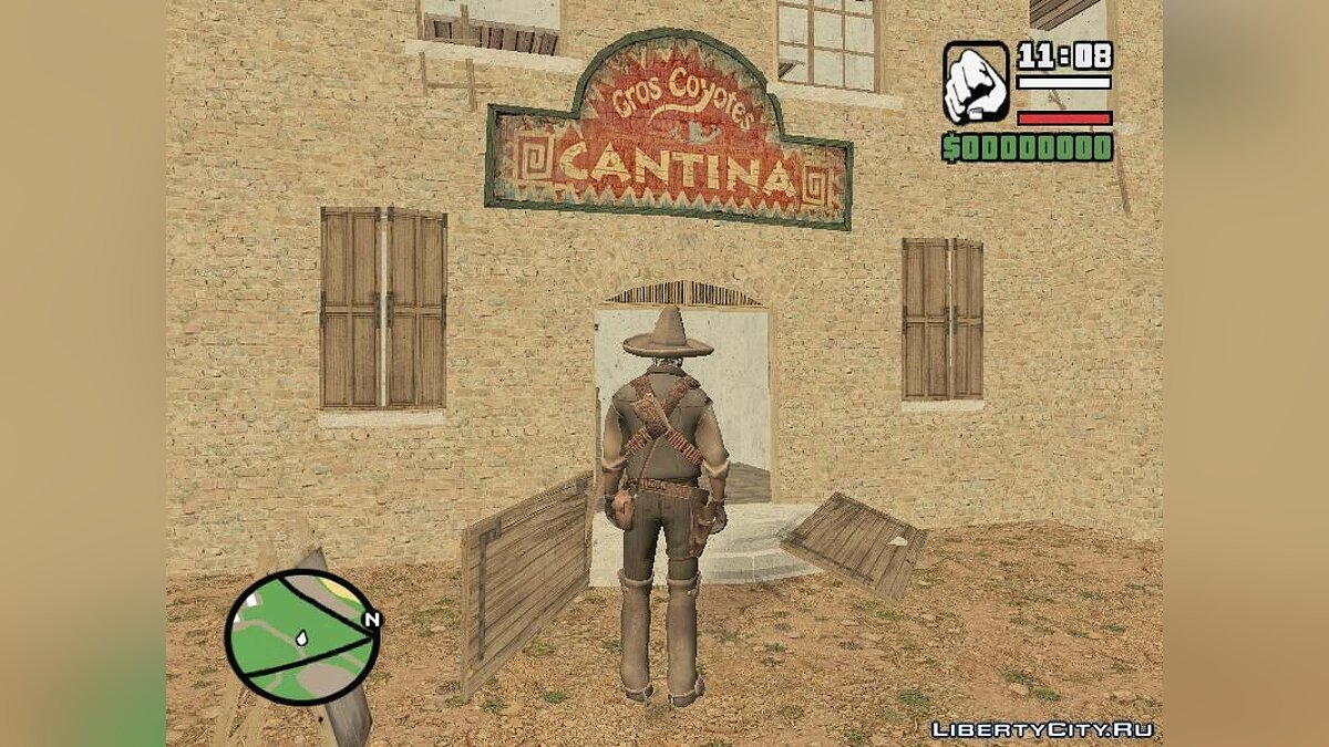 GTA Red Dead Revolver Wild West для GTA San Andreas
