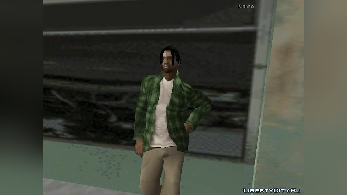2pac feat Outlawz-Last Breathin [GTA SA] для GTA San Andreas - скриншот #3
