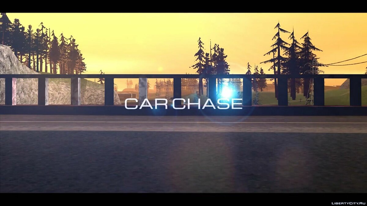 Car chase [Machinima] для GTA San Andreas