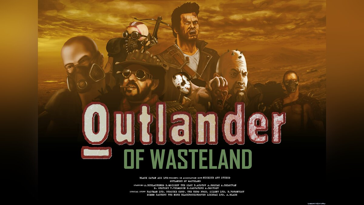 Фан видео GTA Wasteland beta 3 - Trailer (Outlander of Wasteland) для GTA San Andreas