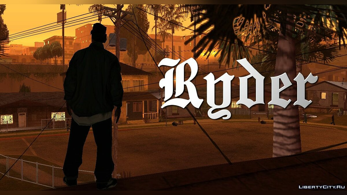 Grand Theft Auto San Andreas Character: Ryder для GTA San Andreas