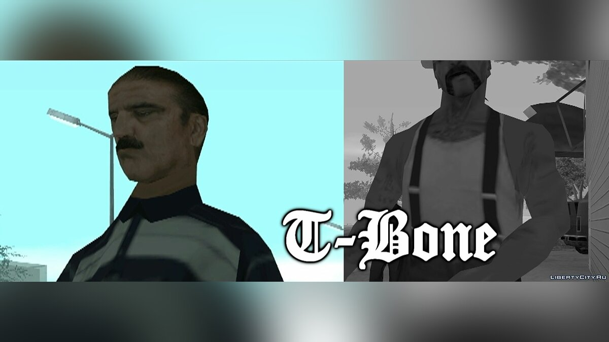 Grand Theft Auto San Andreas - Meet: T-Bone Mendez для GTA San Andreas