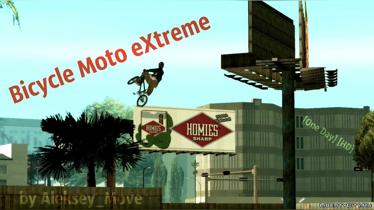 Bicycle Moto eXtreme [One Day] [HD] для GTA San Andreas