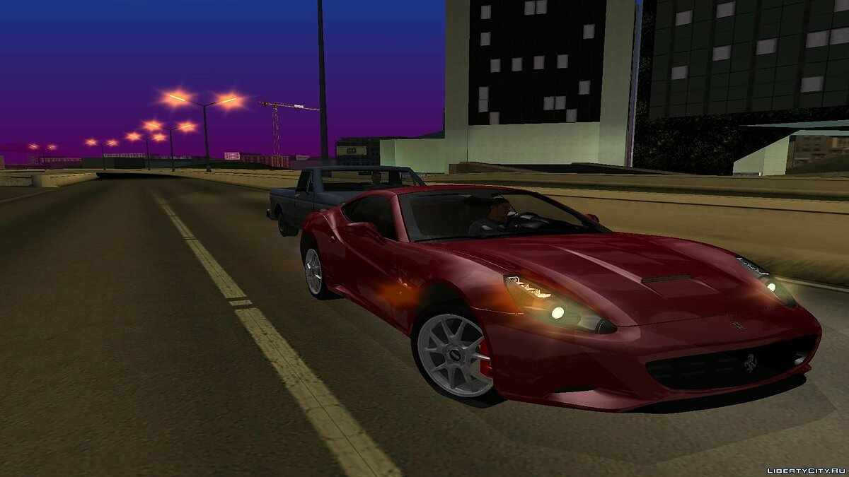 Ferrari California для GTA San Andreas - скриншот #7
