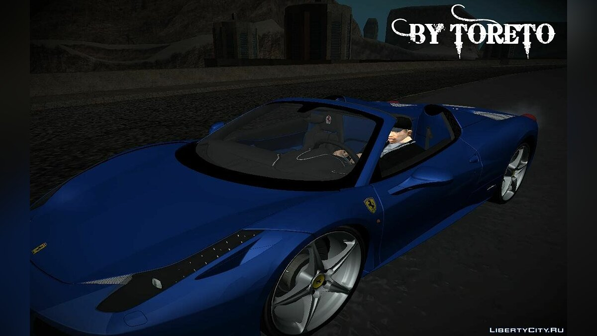 2013 Ferrari 458 Spider BETA для GTA San Andreas - скриншот #2