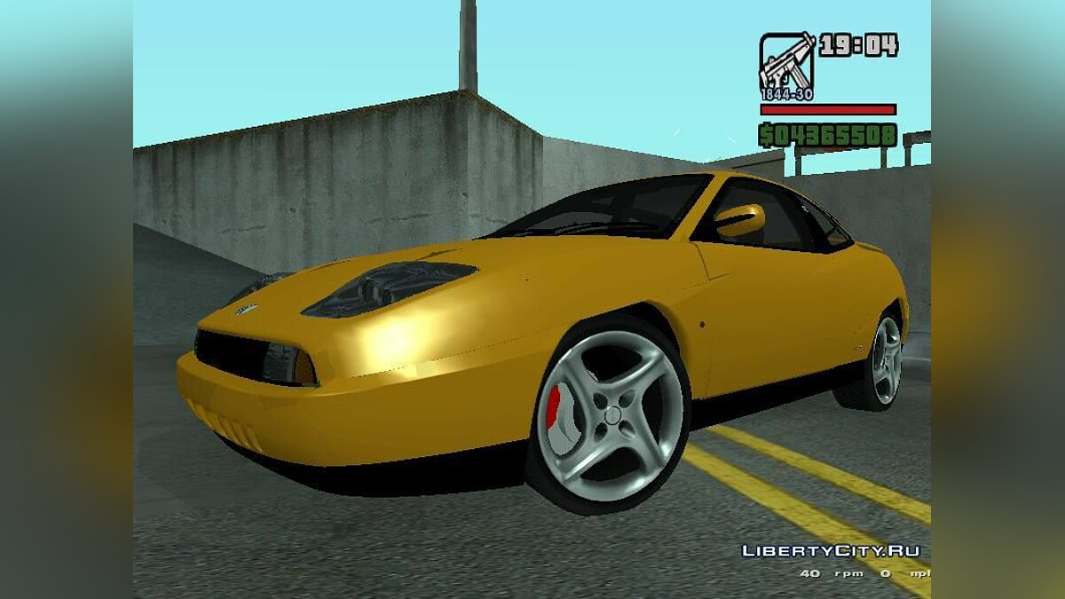 Fiat Coupe для GTA San Andreas - Картинка #1