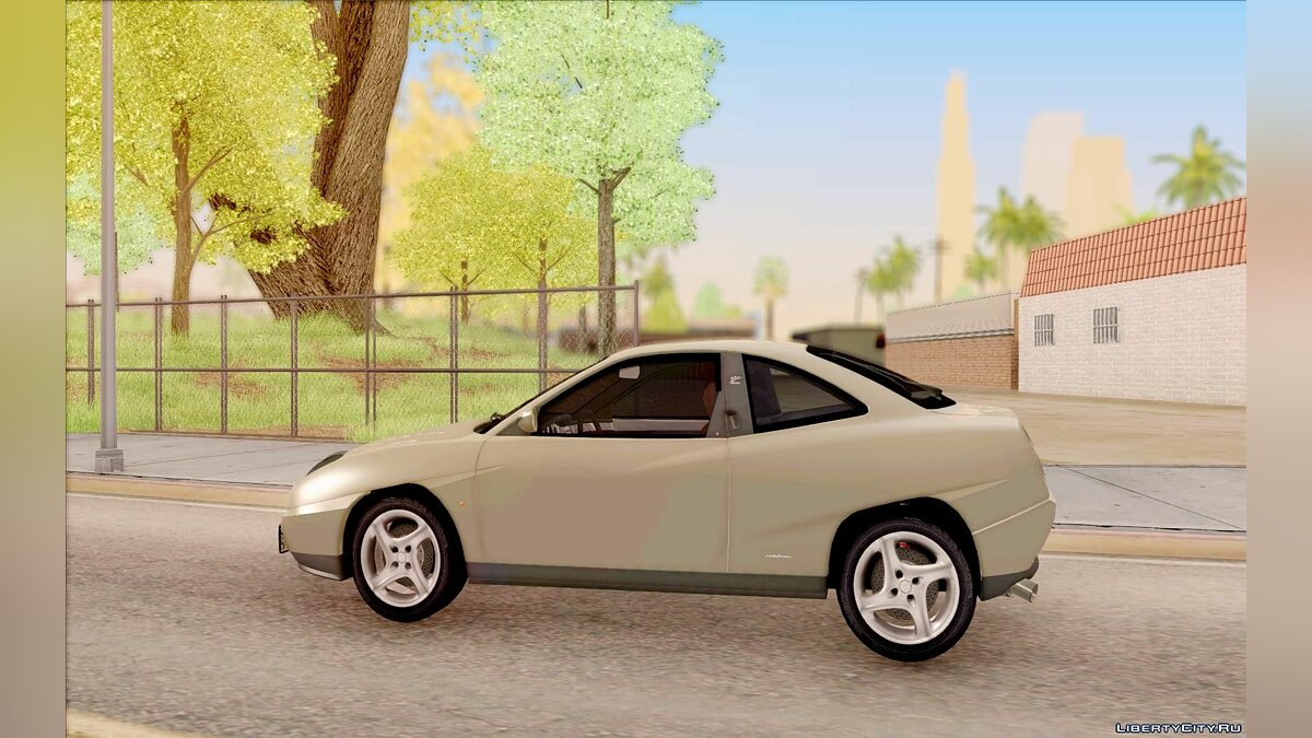 Fiat Coupe - Stock для GTA San Andreas - скриншот #7