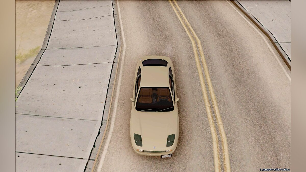 Fiat Coupe - Stock для GTA San Andreas - скриншот #5