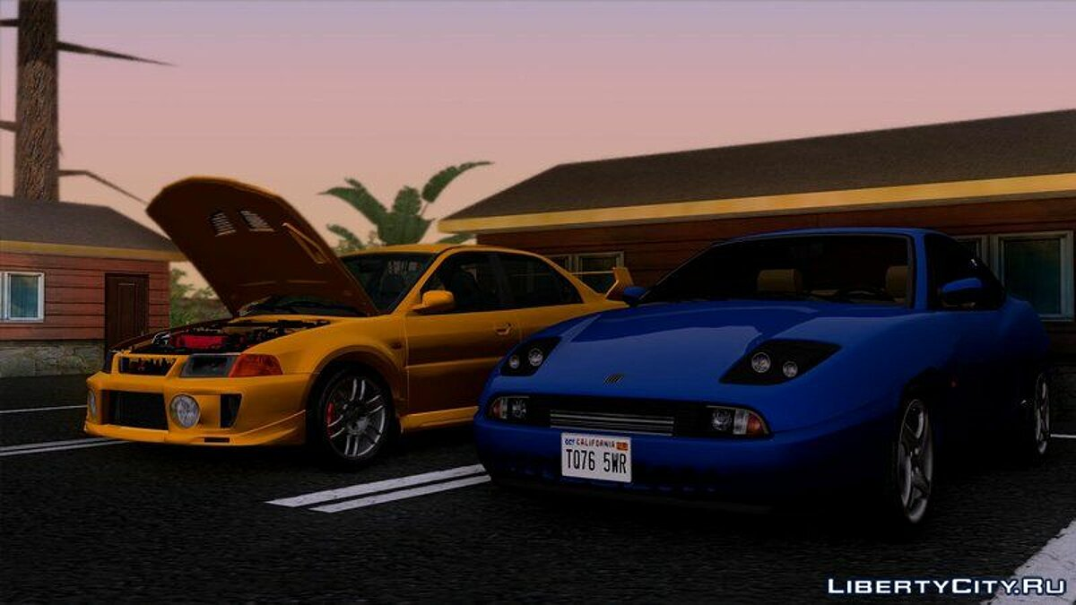 Машина Fiat Fiat Coupe 20V Turbo (175) 1995 для GTA San Andreas