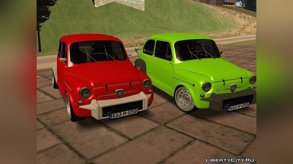 Fiat Abarth 1000TC Rally для GTA San Andreas - скриншот #3