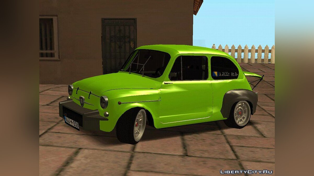 Fiat Abarth 1000TC Rally для GTA San Andreas - скриншот #2