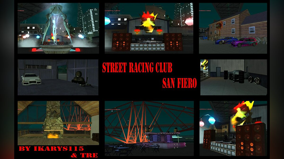 [FS] Street Racing Club для GTA San Andreas