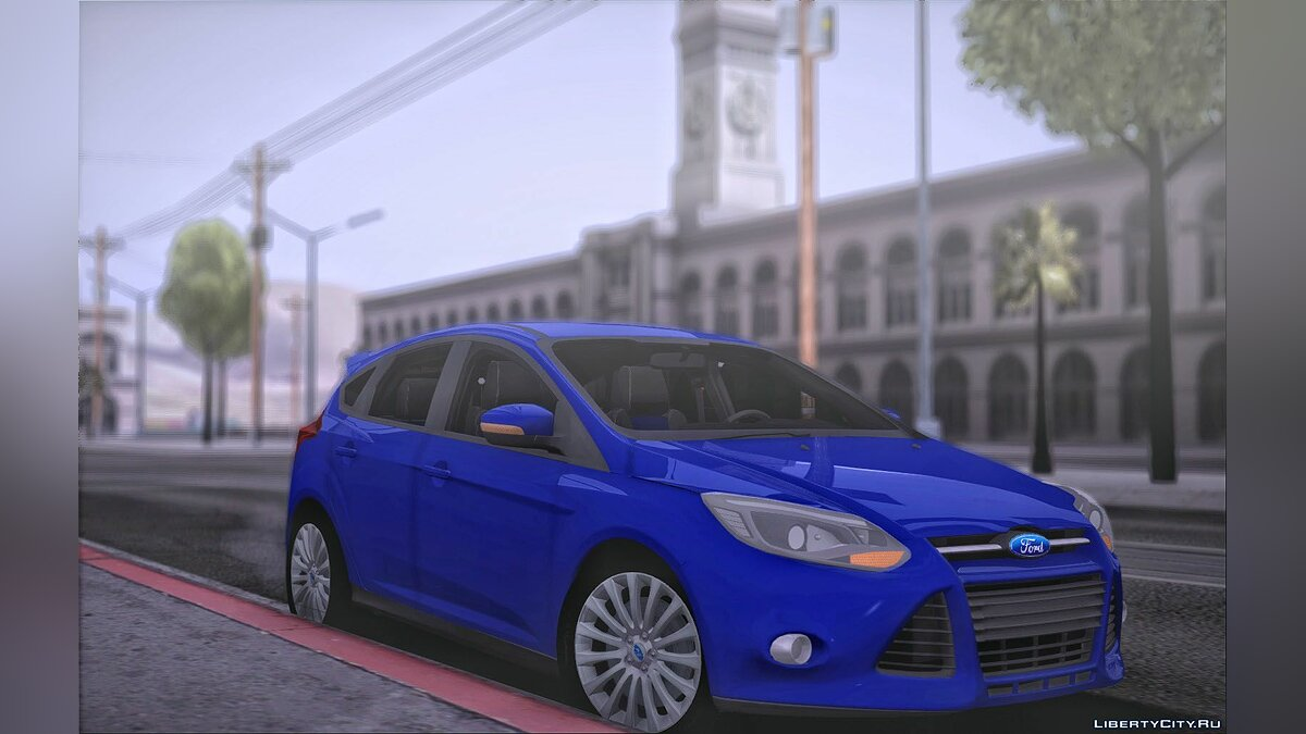 Машина Ford Ford Focus Hatchback для GTA San Andreas