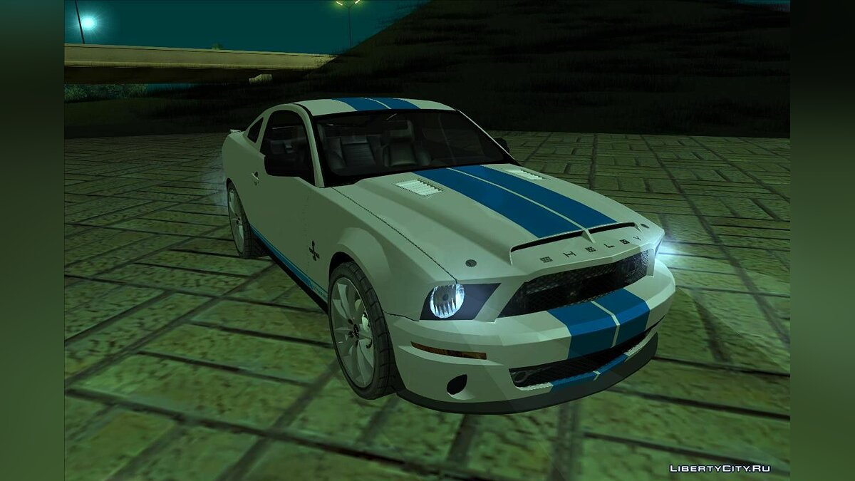 2008 Ford Mustang Shelby GT500KR для GTA San Andreas