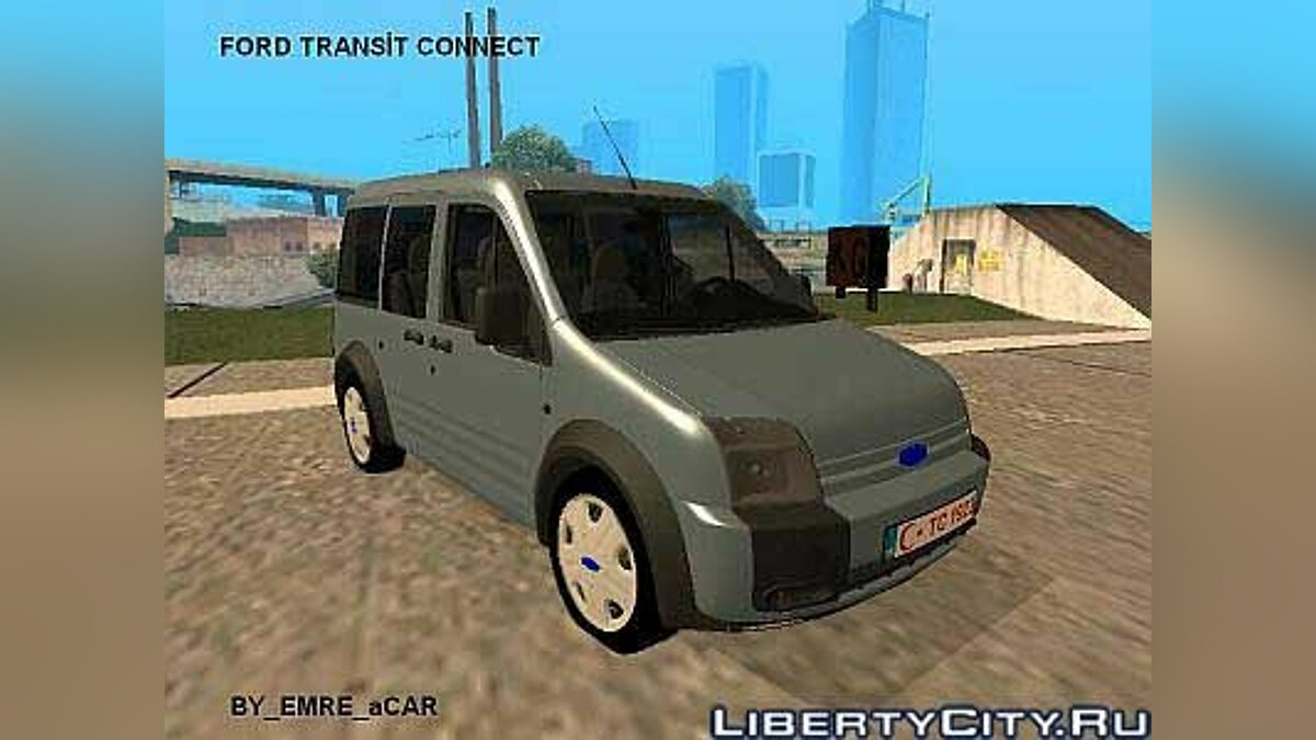 Ford Transit Connect Gti для GTA San Andreas