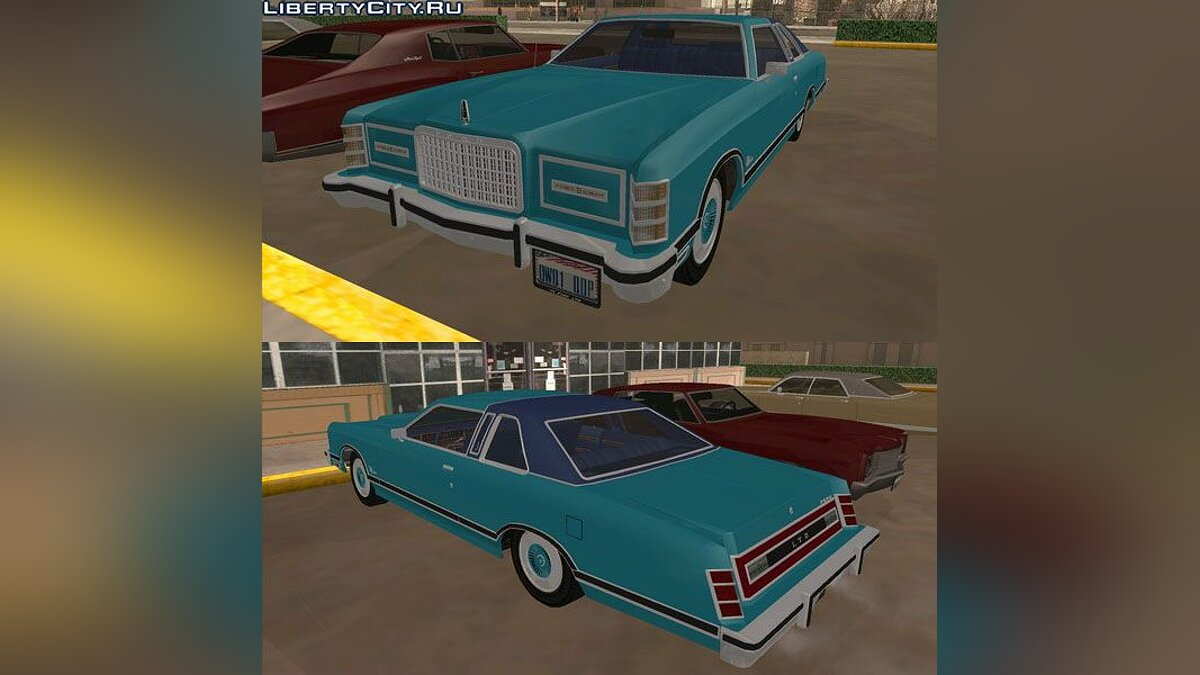 Ford LTD Landau Coupe 1975 для GTA San Andreas