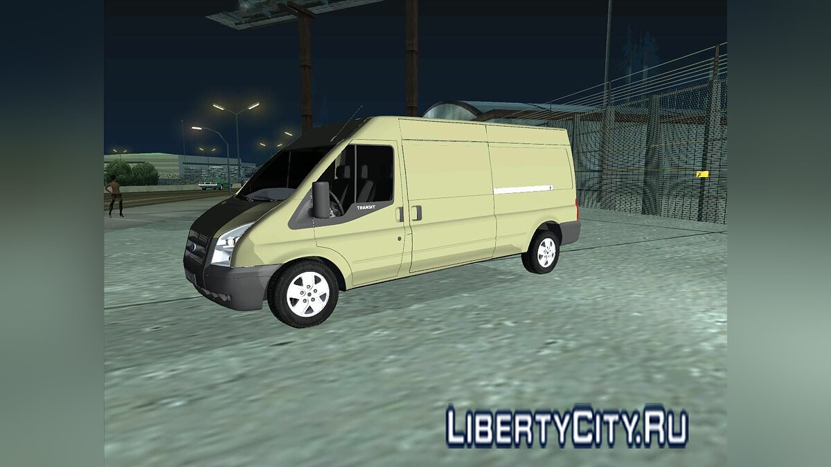 Ford Transit 350L pack для GTA San Andreas