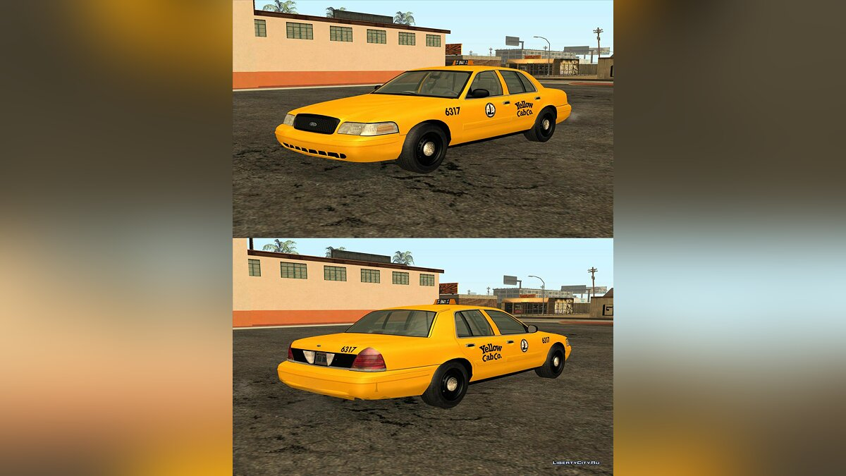 2003 Ford Crown Victoria Taxi для GTA San Andreas