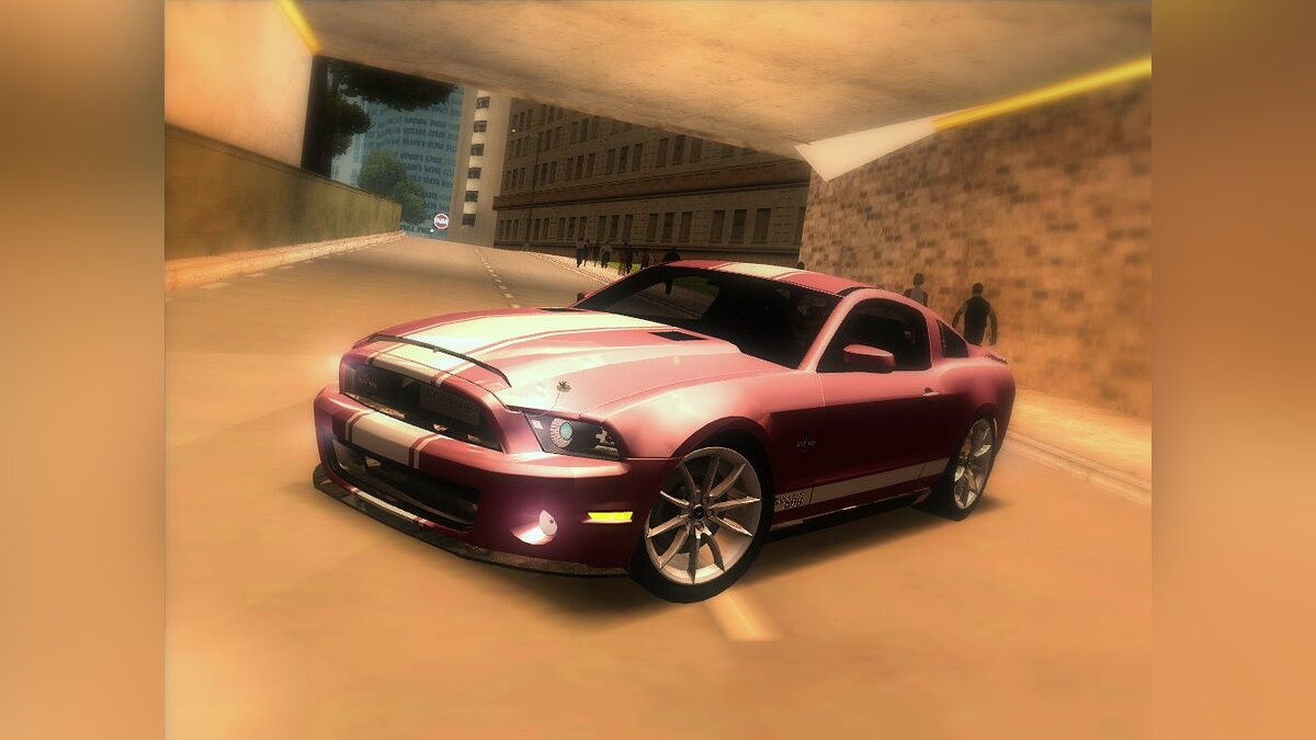 2010 Ford Shelby GT500 Supersnake для GTA San Andreas