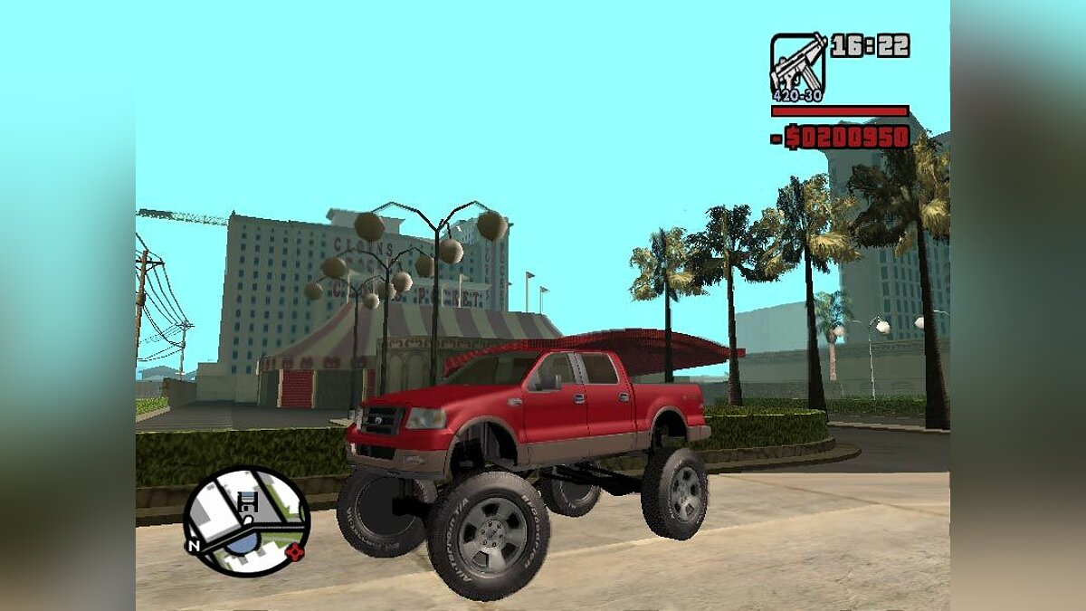 Ford F150 Monster Truck для GTA San Andreas
