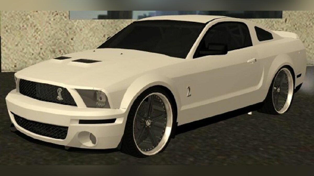 Ford Mustang GT 500 KR Under Best для GTA San Andreas