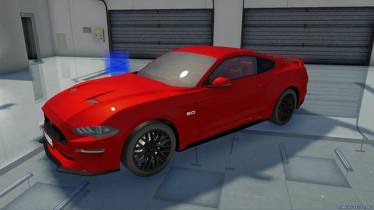 Машина Ford Ford Mustang GT 2019 для GTA San Andreas