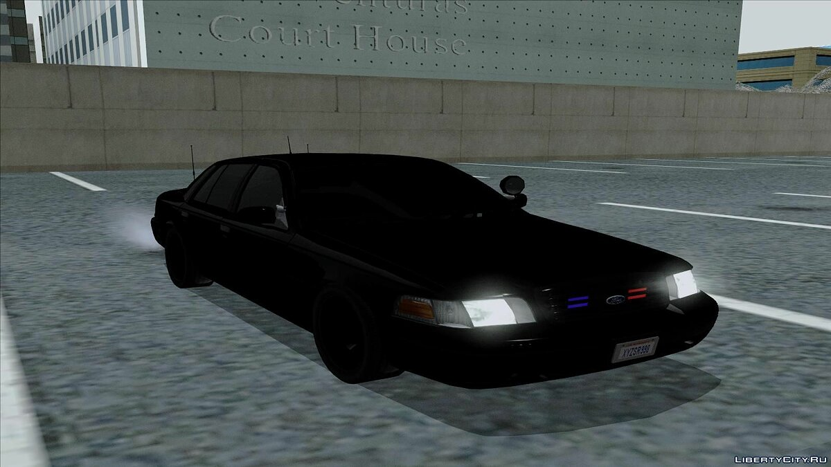 Ford Crown Victoria Unmarked для GTA San Andreas