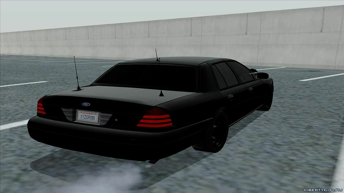 Ford Crown Victoria Unmarked для GTA San Andreas - скриншот #4