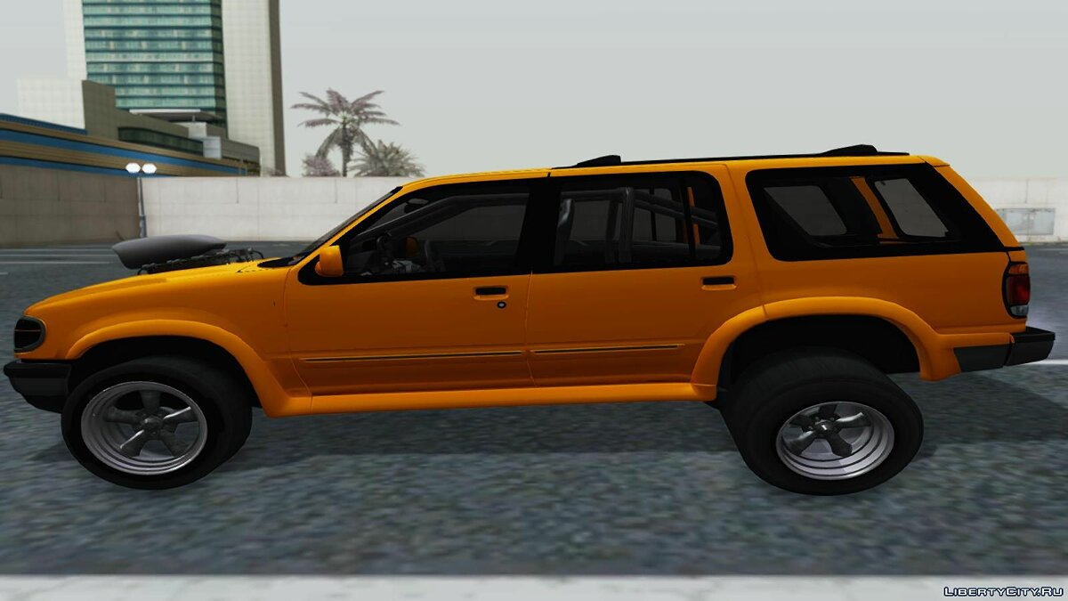Ford Explorer 1996 Drag для GTA San Andreas - скриншот #3