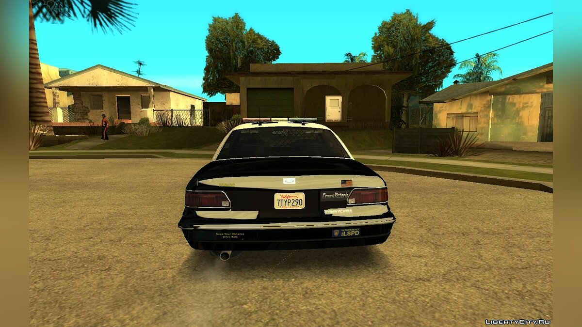 Машина Ford 1997 Ford Crown Victoria (Stanier style) Pack v1.0 для GTA San Andreas