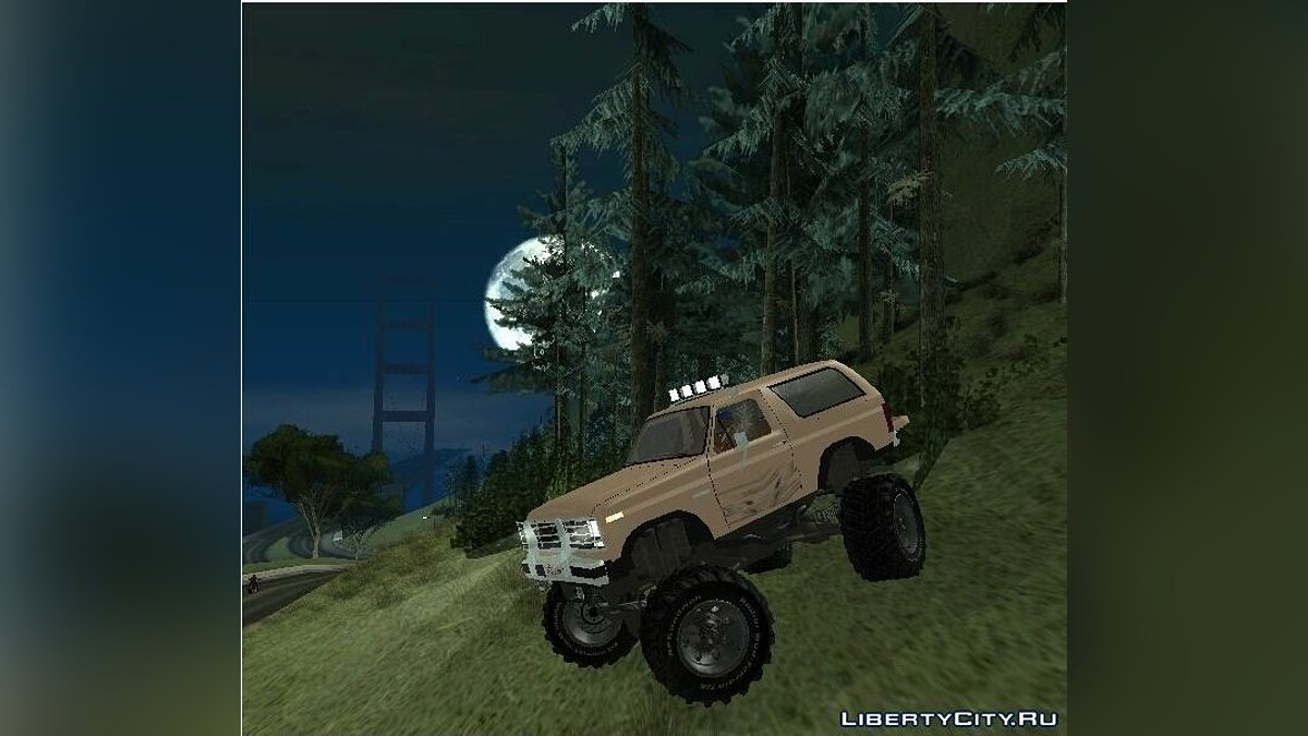 Ford Bronco IV Monster для GTA San Andreas