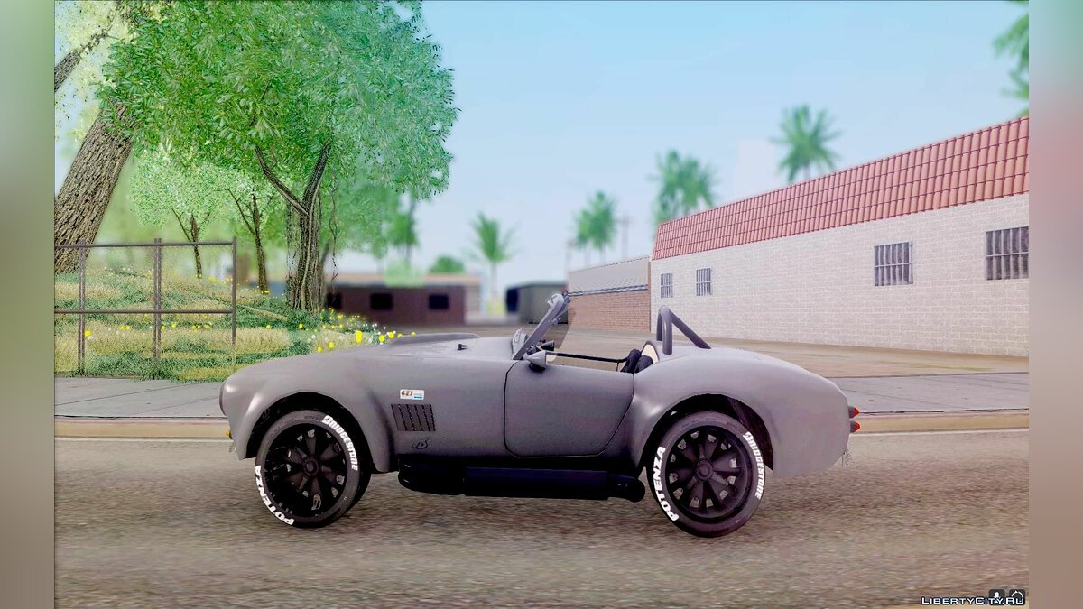 Shelby Cobra Dezent Tuning для GTA San Andreas - скриншот #4
