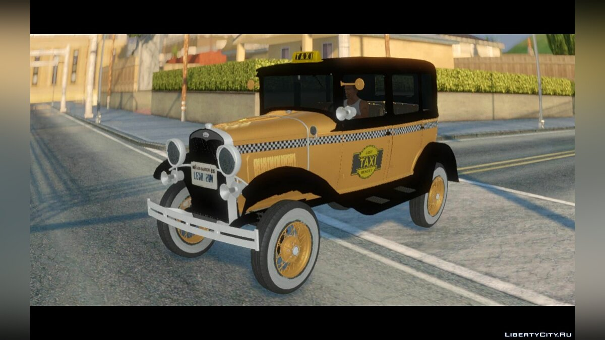 Машина Ford 1928 Ford Model A Taxi для GTA San Andreas