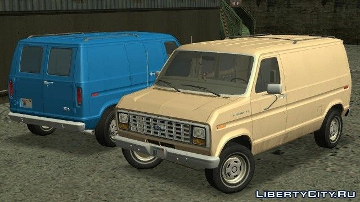 Ford E-150 1983 Commercial Van для GTA San Andreas