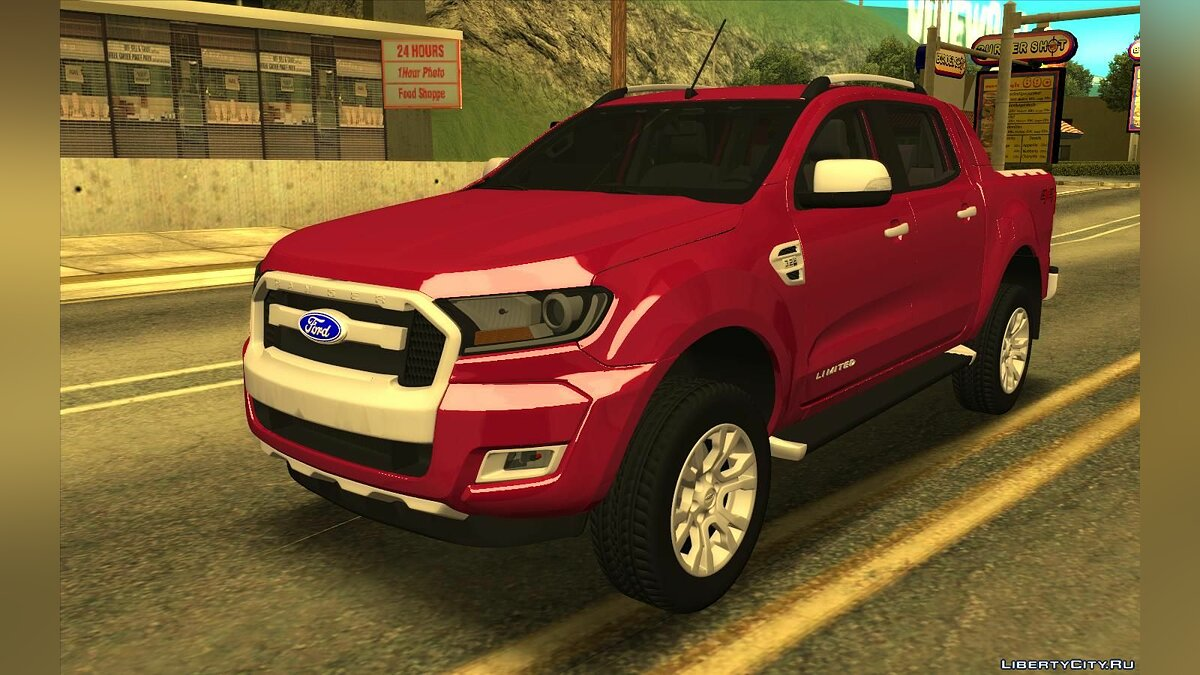 Машина Ford Ford Ranger Limited 2016 для GTA San Andreas