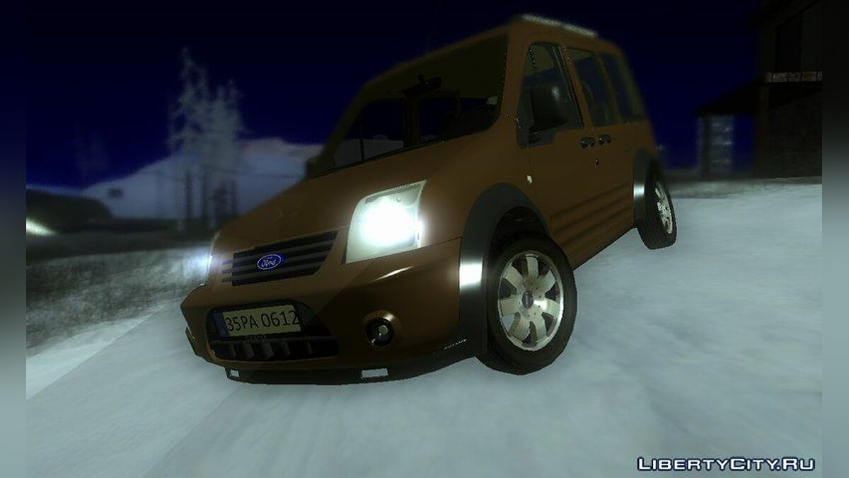 ��ашина Ford Ford Tourneo Connect V2 для GTA San Andreas
