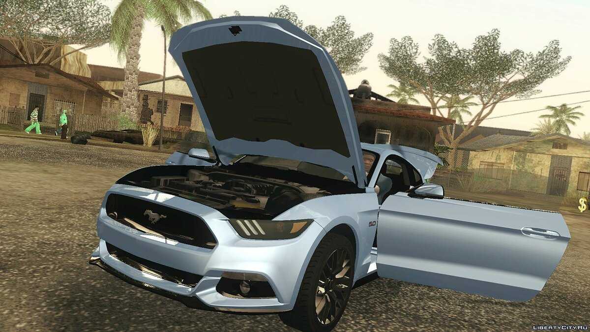 Машина Ford 2015 Ford Mustang GT для GTA San Andreas