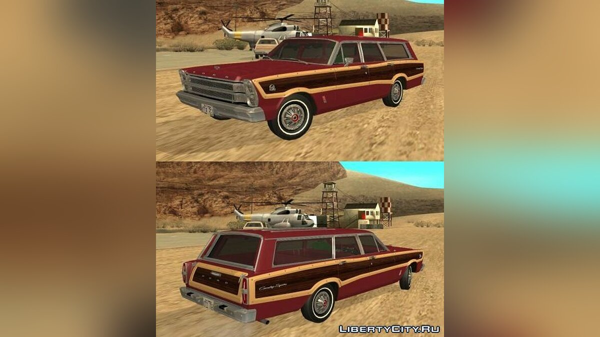 1966 Ford Country Squire для GTA San Andreas