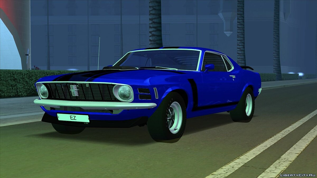 Машина Ford Ford Mustang Boss 302 '70 для GTA San Andreas
