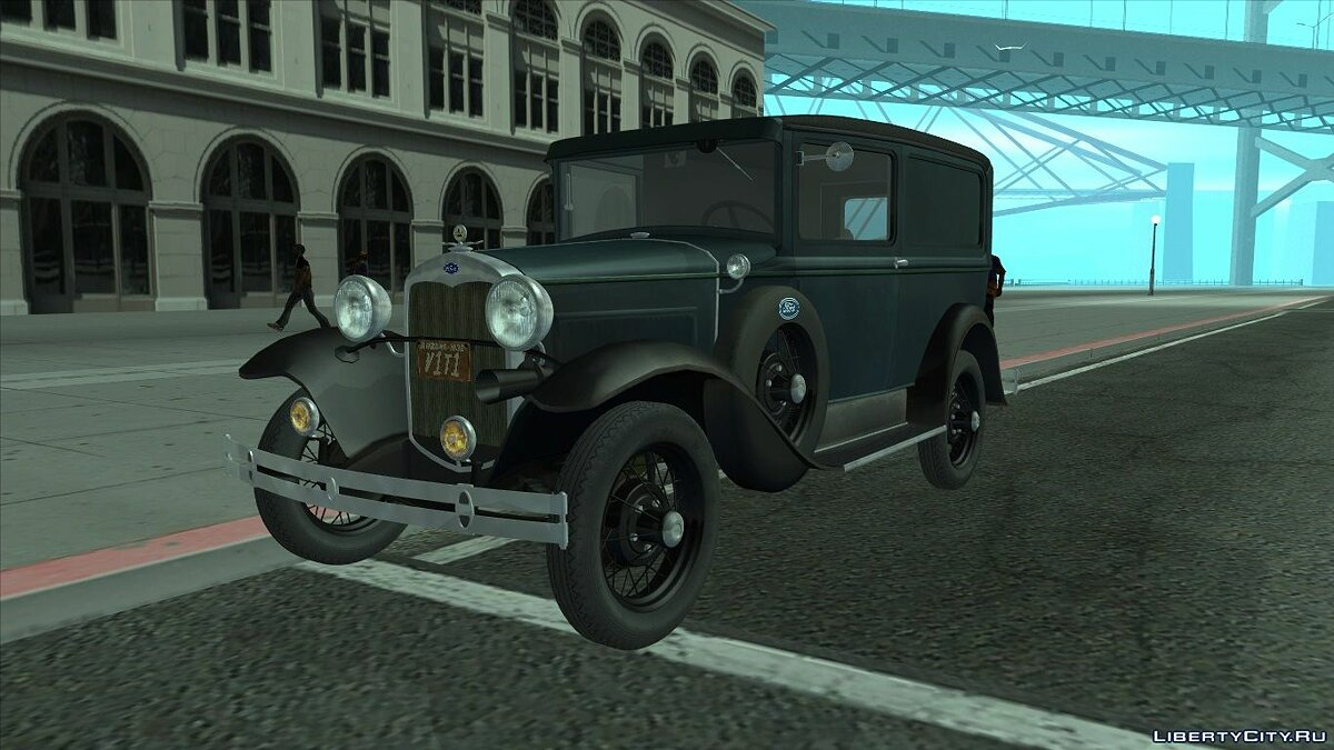 Машина Ford 1930 Ford Model A Deluxe Delivery для GTA San Andreas