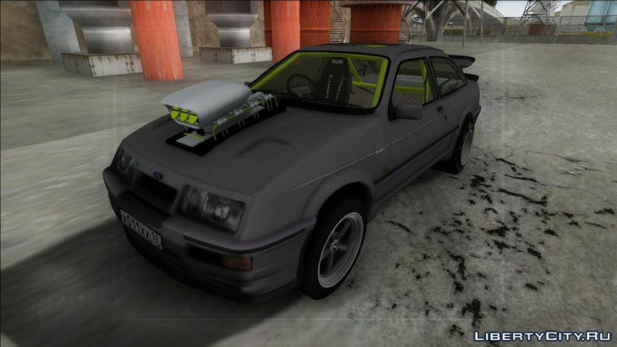 Ford Sierra RS500 Cosworth Drag для GTA San Andreas - скриншот #3